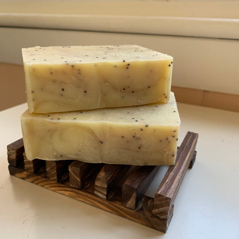 Lemon Poppyseed Handmade Soap