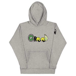 Open image in slideshow, Greed Hoodie
