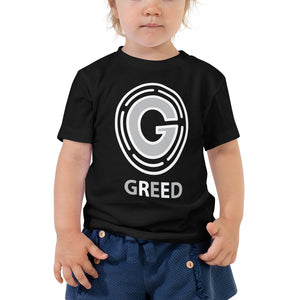 Open image in slideshow, Toddler Short Sleeve Greed