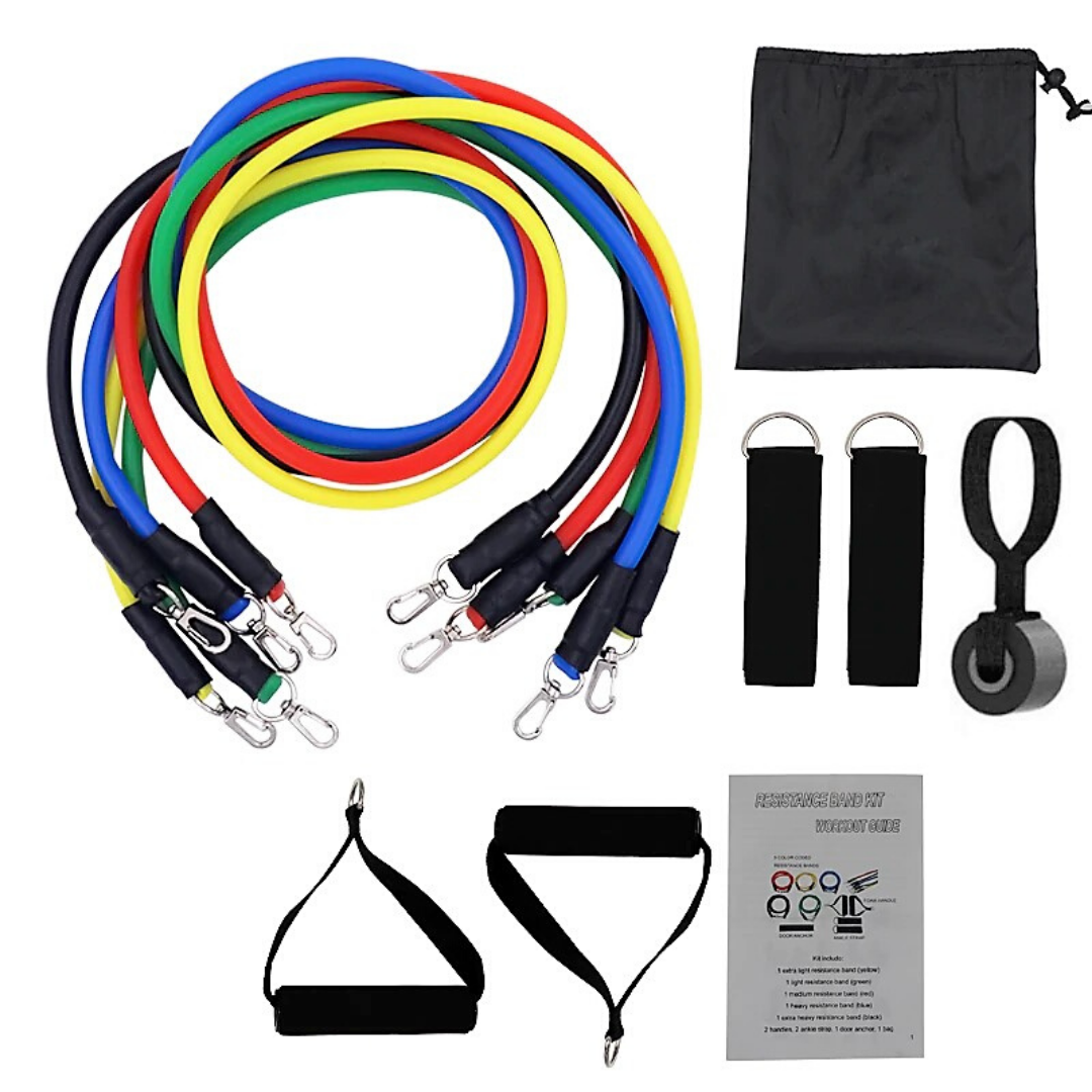Resistance Band Set with Anchor