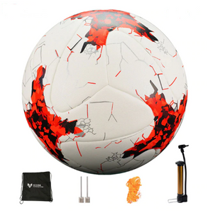 Professional Soccer Ball Sizes 4 and 5 + free accessories