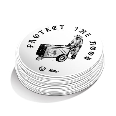 Protect The Hood - VNDTA x Represent Collab Edition Sticker