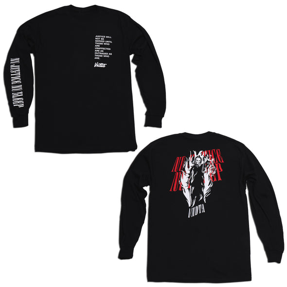 """No Justice No Sleep"" - VNDTA Long Sleeve"