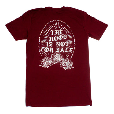 Protect The Hood - Hood is not for Sale - Maroon