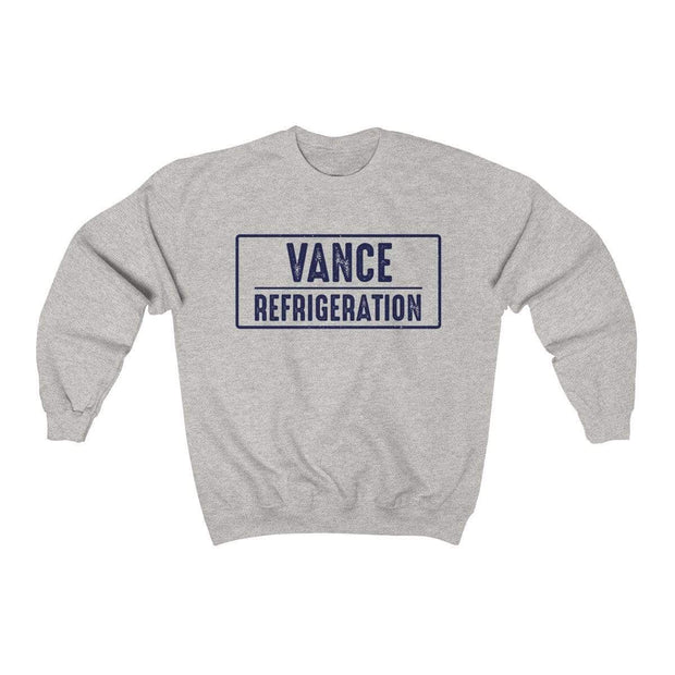 Ash / S Vance Refrigeration Crewneck Sweatshirt - Ivory Parke - Modern Apparel and Trendy Accessories