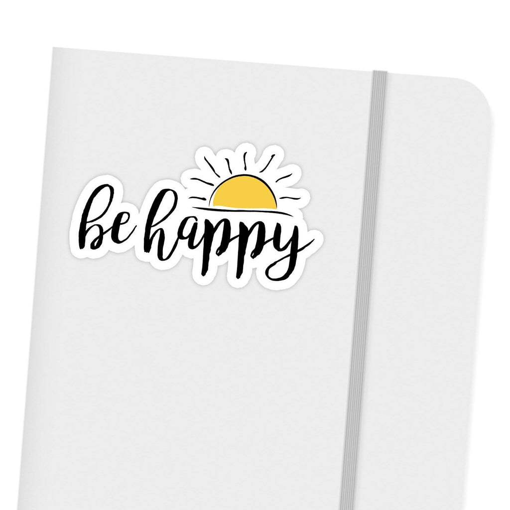 Ivory Parke:Be Happy Sunshine Sticker,sale,Ivory Parke