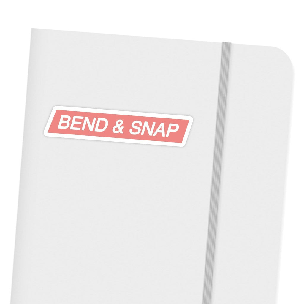 Ivory Parke:Bend & Snap Sticker,sale,Ivory Parke