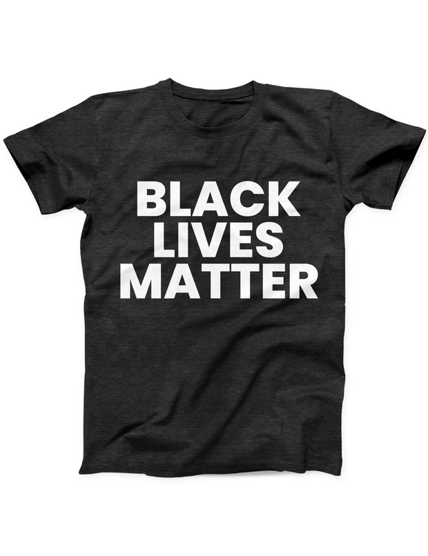 Black Lives Matter Bold Tee - Black - Ivory Parke - Modern Apparel and Trendy Accessories