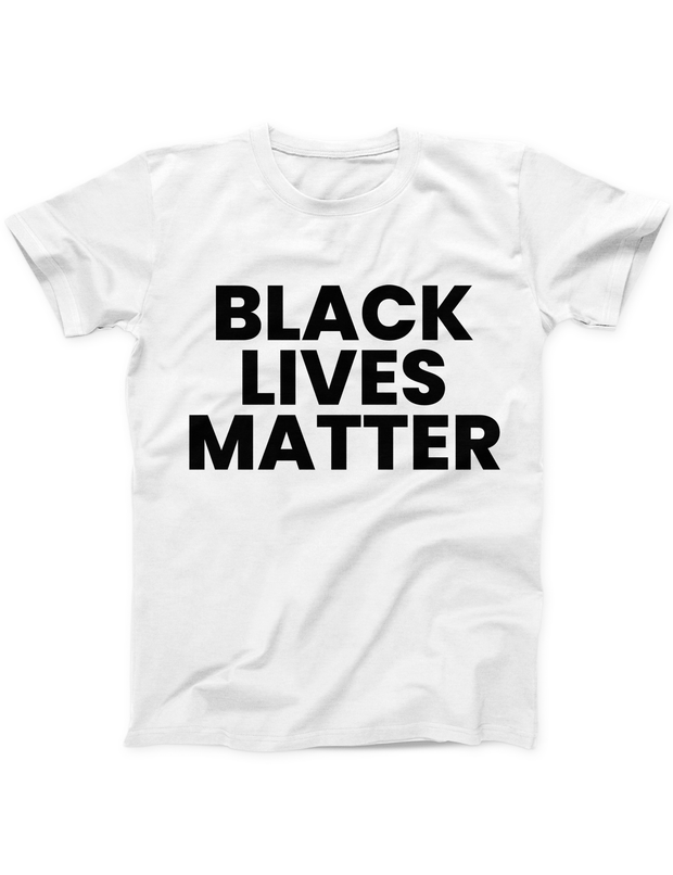 Black Lives Matter Bold Tee - White - Ivory Parke - Modern Apparel and Trendy Accessories