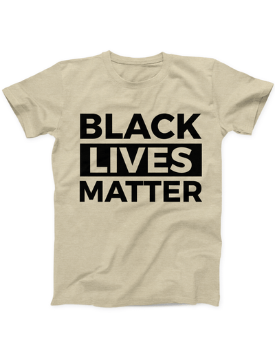 Black Lives Matter Statement Tee - Soft Cream - Ivory Parke - Modern Apparel and Trendy Accessories