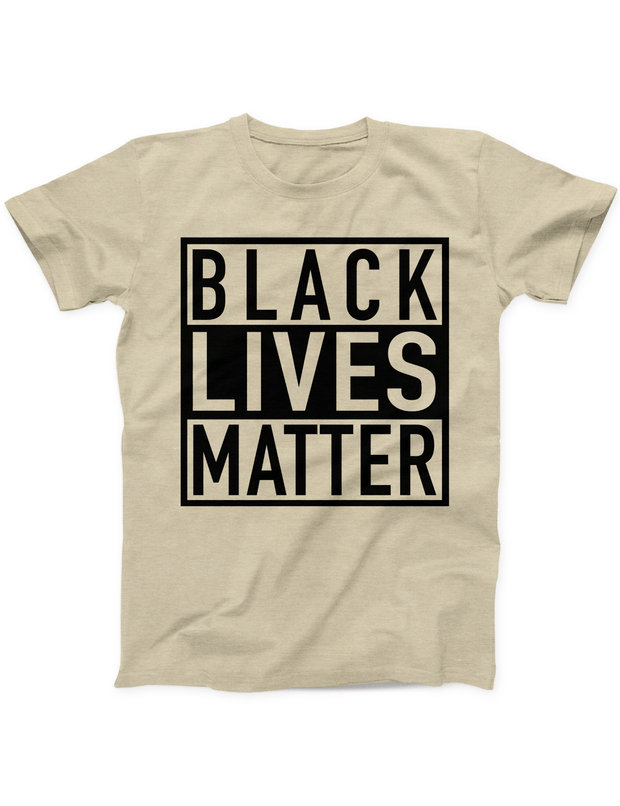 Black Lives Matter Tee - Soft Cream - Ivory Parke - Modern Apparel and Trendy Accessories