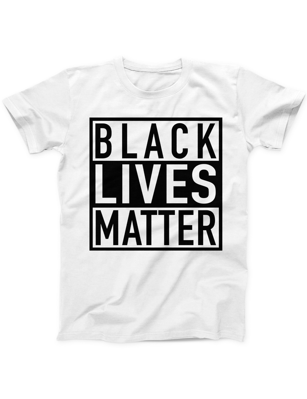 Black Lives Matter Tee - White - Ivory Parke - Modern Apparel and Trendy Accessories