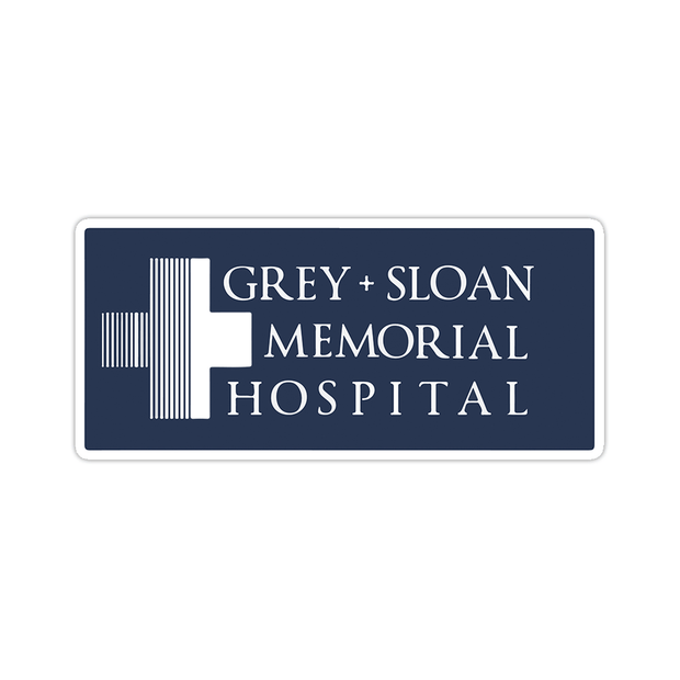 Ivory Parke:Grey And Sloan Memorial Hospital Sticker,sale,Ivory Parke