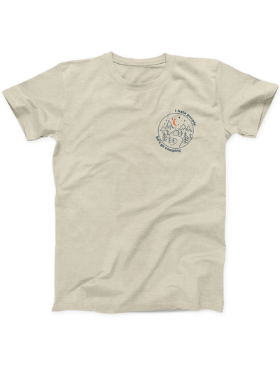 I Hate People Lets Go Camping Tee - Ivory Parke - Modern Apparel and Trendy Accessories