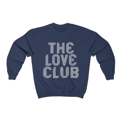 Navy / L The Love Club Crewneck Sweatshirt - Ivory Parke - Modern Apparel and Trendy Accessories