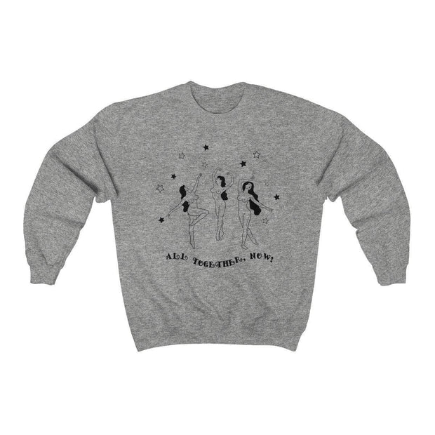 Sport Grey / S All Together Now Crewneck Sweatshirt - Ivory Parke - Modern Apparel and Trendy Accessories