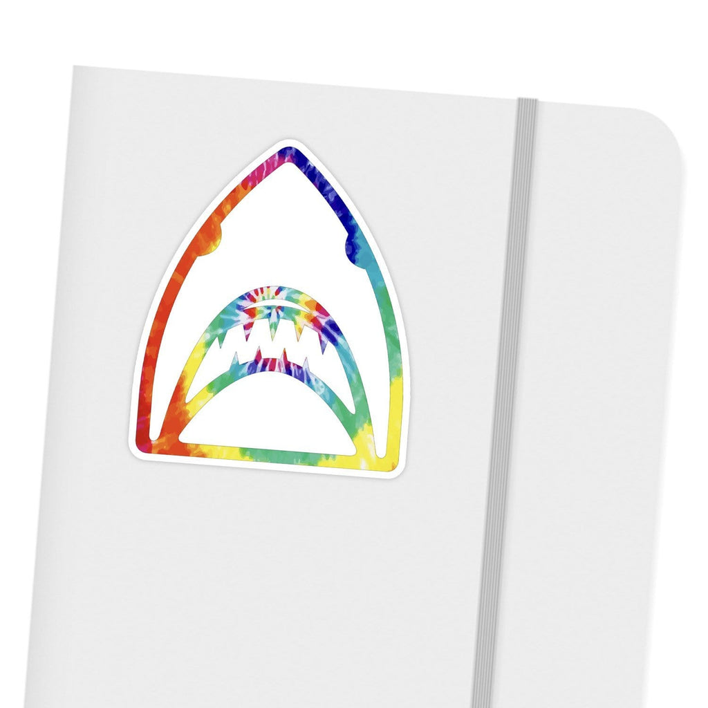 Ivory Parke:Tie Dye Shark Head Sticker,Sale,Ivory Parke