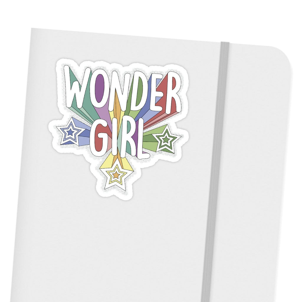 Ivory Parke:Wonder Girl Sticker,Sale,Ivory Parke