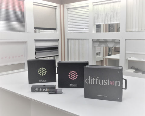 Window blind display