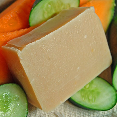Fresh Cucumber and Sweet Melon Goat's Milk Soap