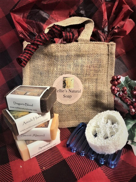 Gift Bag ! 4 Soaps and More