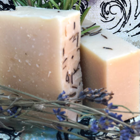 Lavender Rosemary Essential Oil Blend Goat's Milk Soap