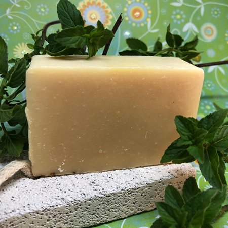 Pure Peppermint Goat's Milk Soap