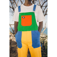 TSNMI Overalls Red/Green/Blue