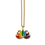 TSNMI Rainbow Lotus Flower Necklace-TSNMI by Kehlani