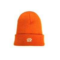 TSNMI Baby Cuff Beanie Orange