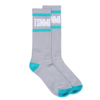 TSNMI Stripe Sock Grey-TSNMI by Kehlani