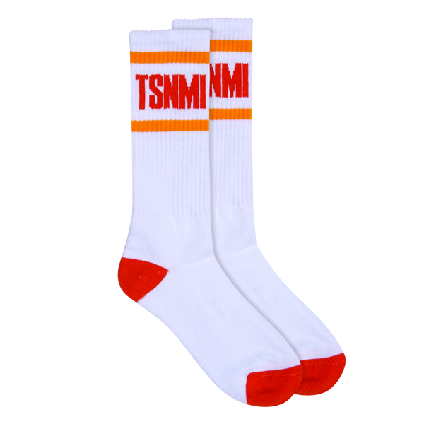 TSNMI Stripe Sock White