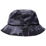 TSNMI Tie Dye Bucket Hat Black