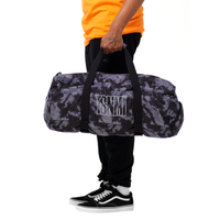 TSNMI Tie Dye Duffel Bag Black