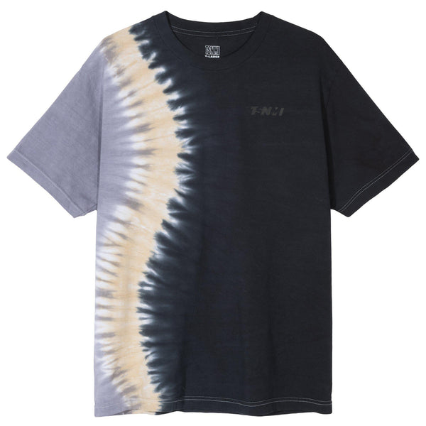 TSNMI Offset Tie Dye Tee Black/Blue