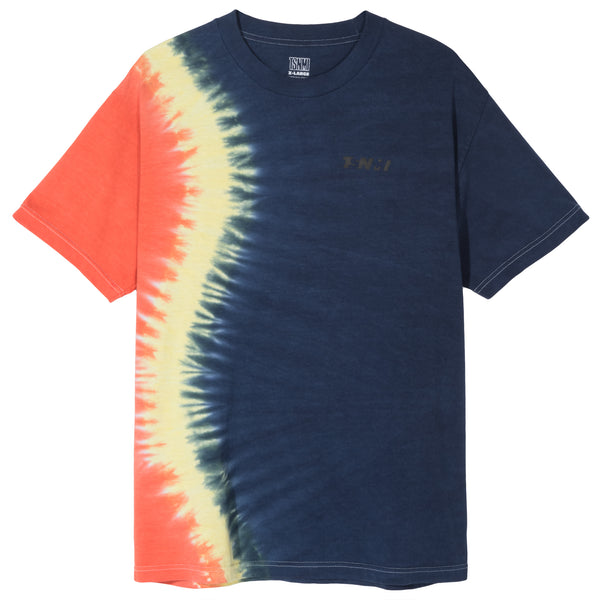TSNMI Offset Tie Dye Tee Navy/Red-TSNMI by Kehlani