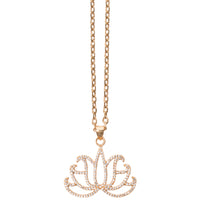 TSNMI Lotus Flower Necklace
