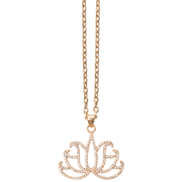 TSNMI Lotus Flower Necklace-TSNMI by Kehlani