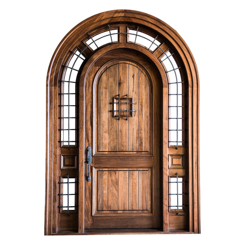 Athena Arched Entry Door