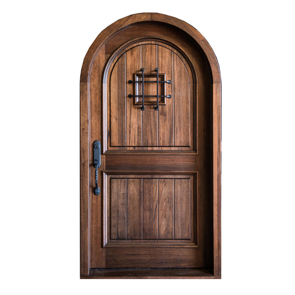 Camelot Arched Entry Door