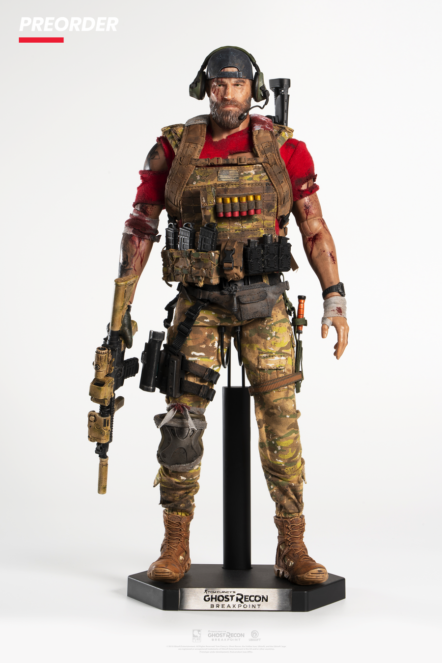Ghost Recon Breakpoint: Nomad 1/6 Articulated Figurine *Deluxe Version*