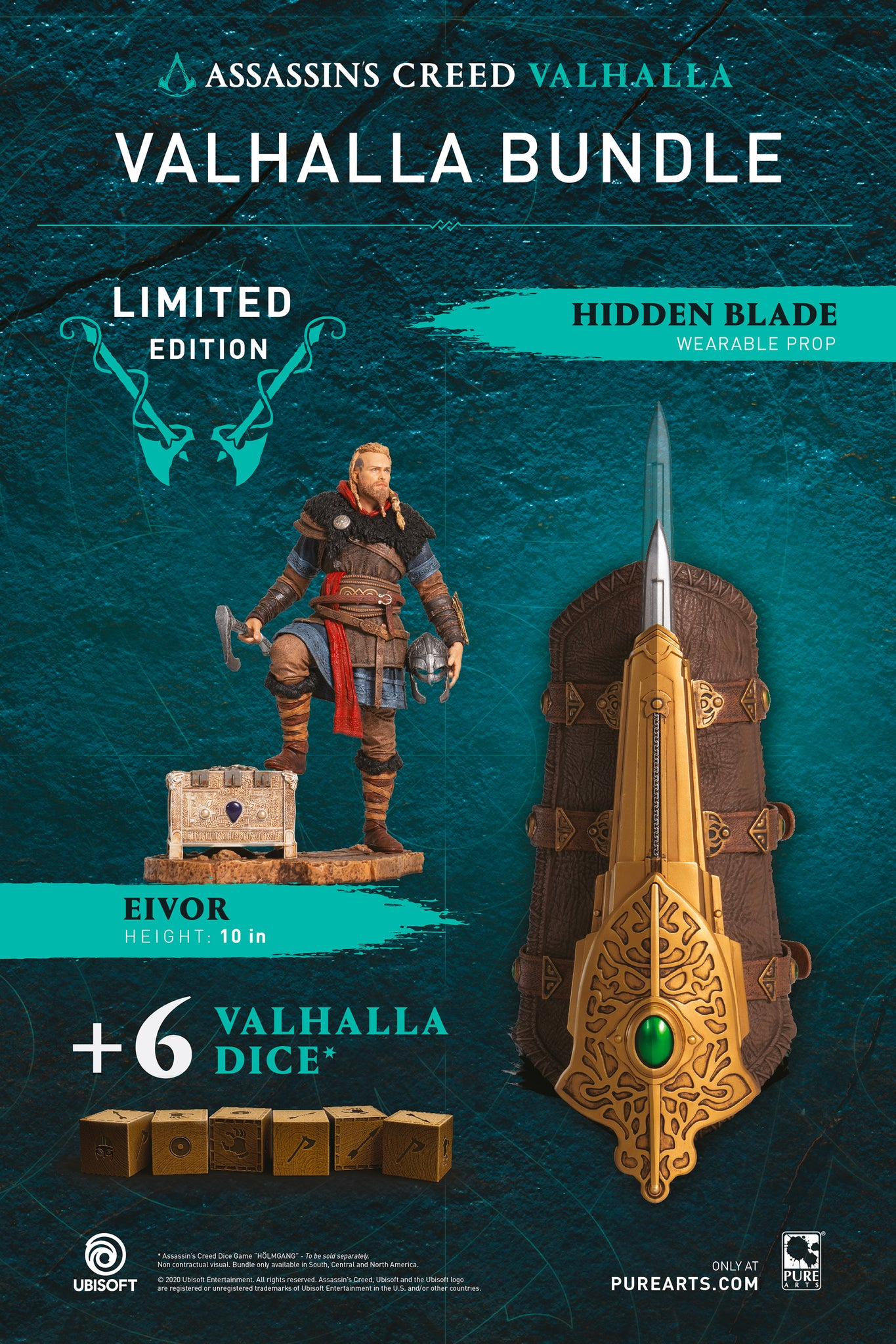 Assassin S Creed Valhalla Bundle With Eivor Statue Life Size