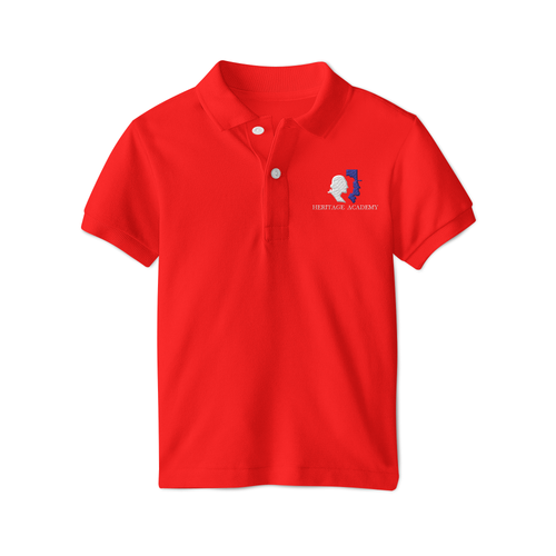 Heritage Academy Polo - Red