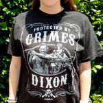 Protected by Grimes and Dixon T-shirt