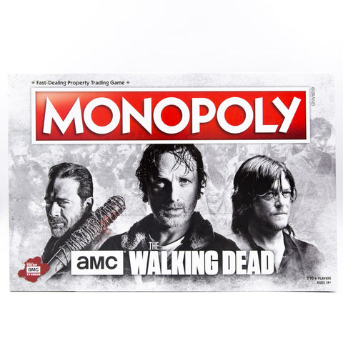 AMC Walking Dead Monopoly