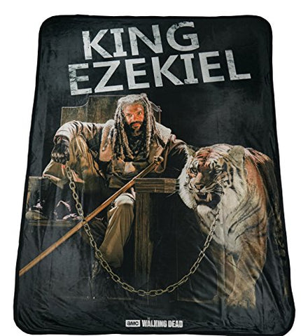 Ezekiel Fleece Blanket