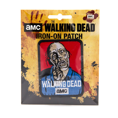 TWD Iron-On Zombie Patch