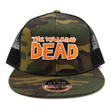 The Walking Dead Camo Trucker Hat