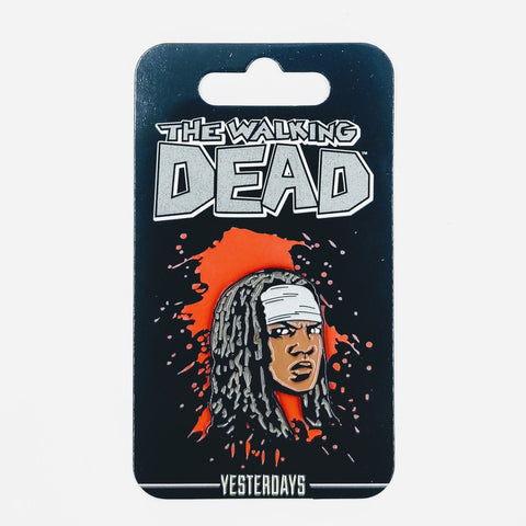 Yesterdays Lapel Pin - Michonne