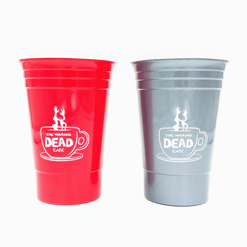 Waking Dead Cafe Solo Cups